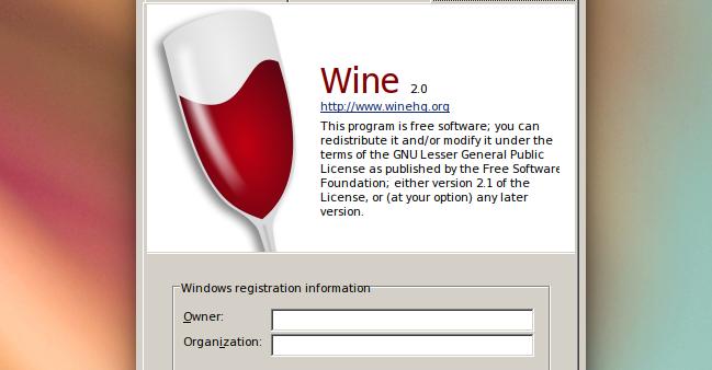Hướng dẫn cài đặt wine 2.0.1