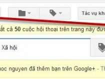 Tút hướng dẫn xóa thư gmail hàng loạt nhanh nhất