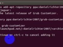Cách cài Grub customizer để chỉnh sữa grub trên Ubuntu