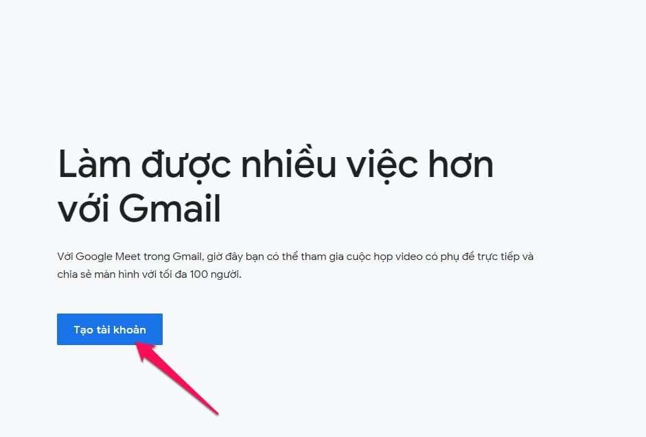 Hướng dẫn tạo tài khoản Google , Gmail mới nhất 2021