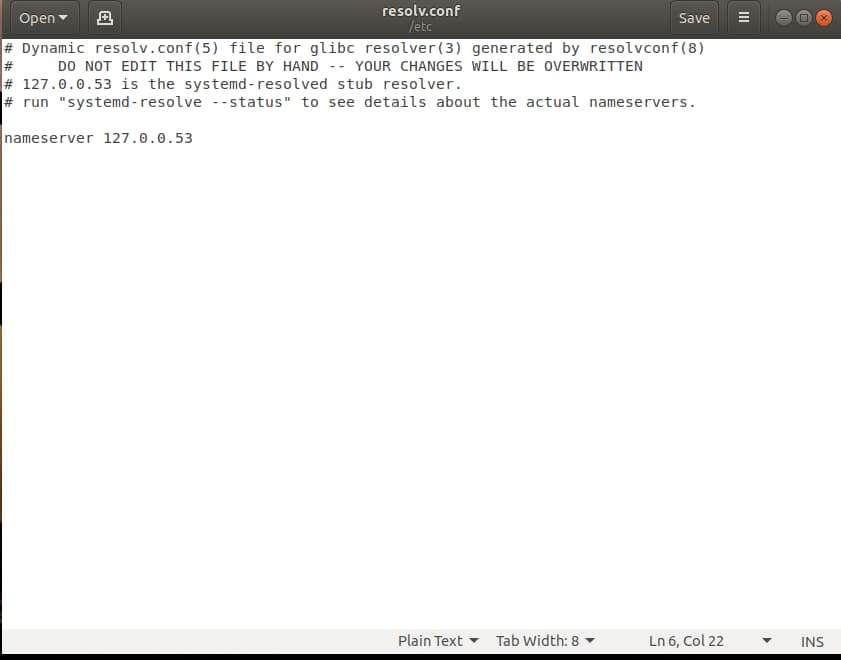 Hướng dẫn thay đổi resolv.conf vĩnh viễn trong Ubuntu 18.04