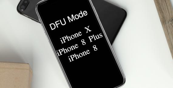 Làm sao để vào chế độ DFU Mode iPhone X ?
