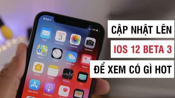 Apple vừa phát hành bản iOS 12 developer beta 3, chủ yếu để cải thiện hiệu năng và tăng độ ổn định chứ chưa thấy tính năng nào mới.