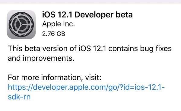 bản cập nhật iOS