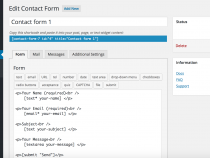 Tút: Hướng dẫn tùy biến giao diện Contact Form 7 mới nhất 2020