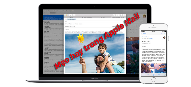 mẹo hay apple mail
