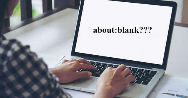 about:blank là gì