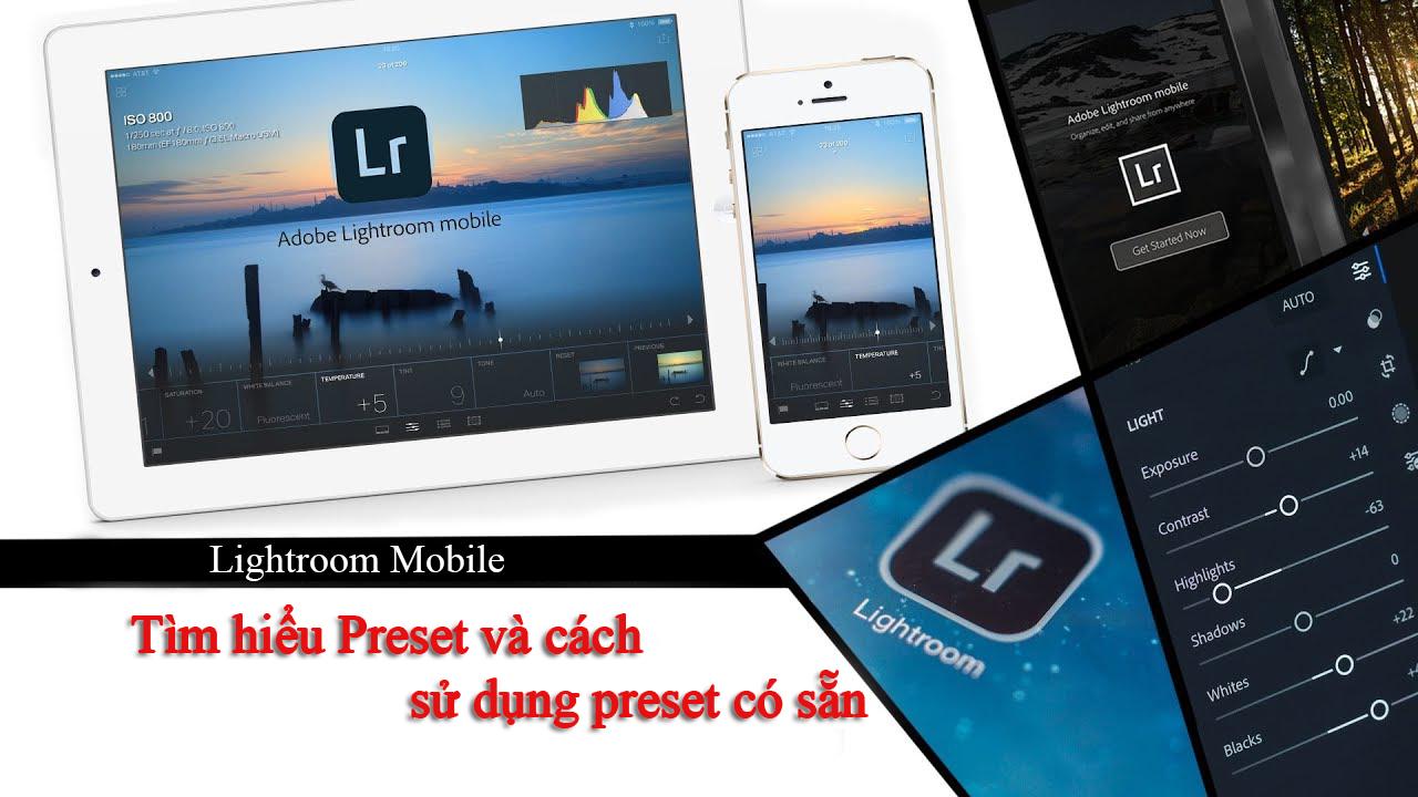 Preset Lightroom Mobile
