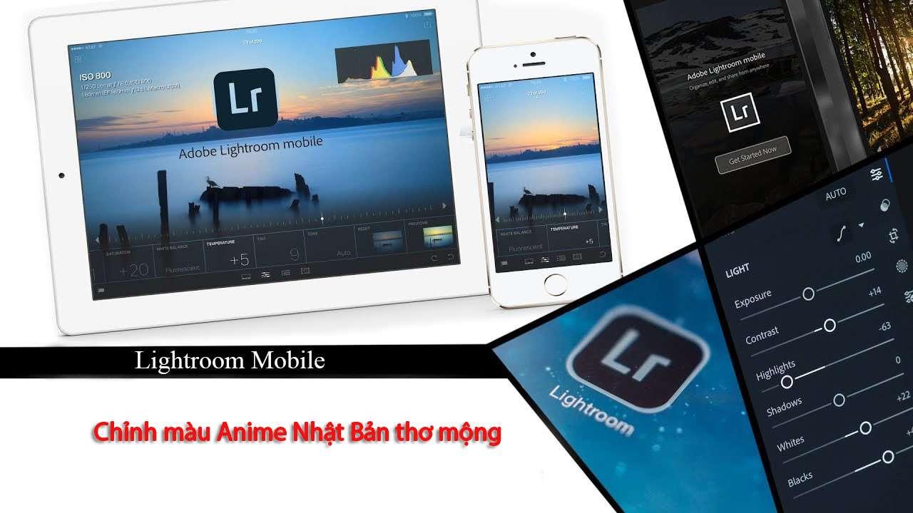 Chỉnh màu Anime Nhật Bản thơ mộng bằng Lightroom Mobile – P6