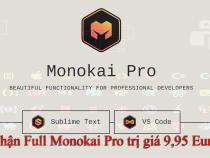 Monokai Pro – Hướng dẫn nhận full bản quyền 9,95 Euro