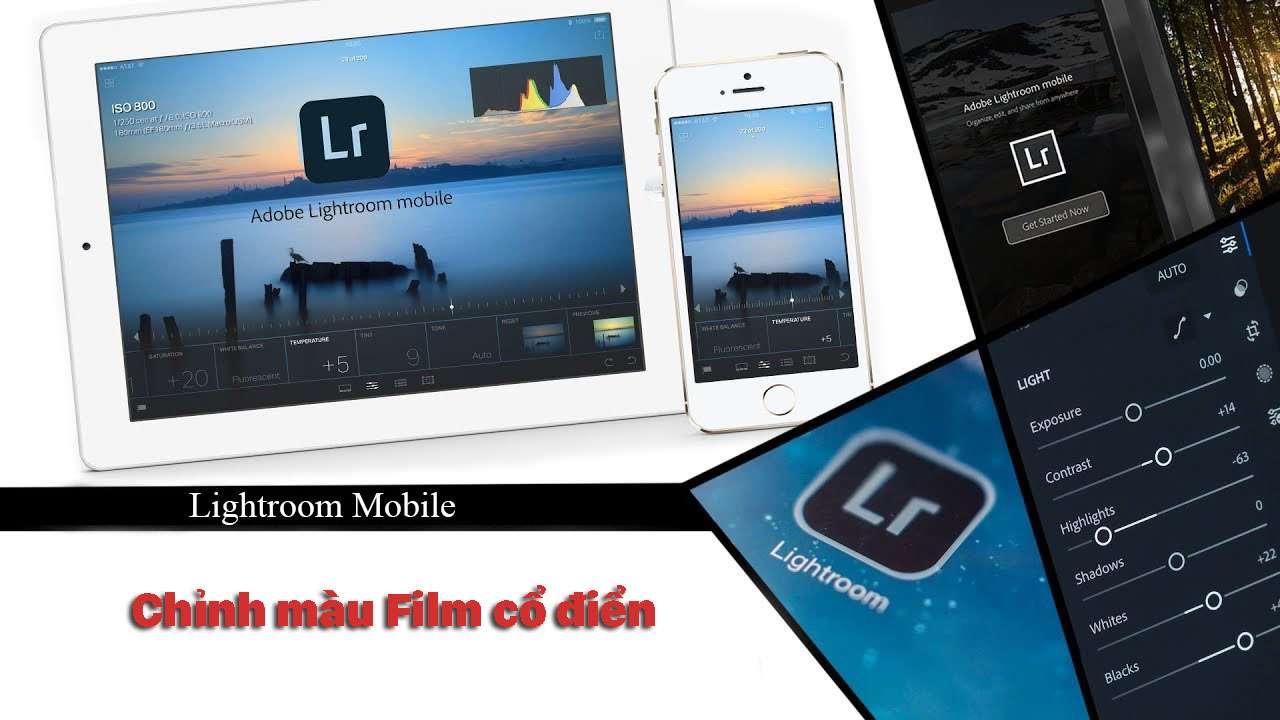 Chỉnh màu Film cổ điển bằng Lightroom Mobile – P7
