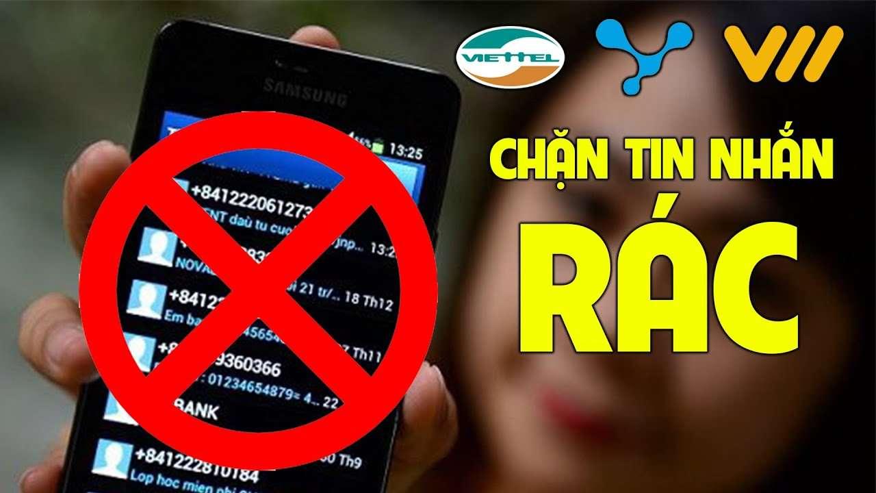 Tuts: chặn tin nhắn quảng cáo Viettel, Mobifone, Vinaphone