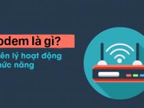 Modem là gì? Cùng tìm hiều về những tính năng của modem