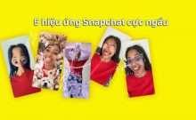 5 hiệu ứng Snapchat cực ngầu bạn nên thử