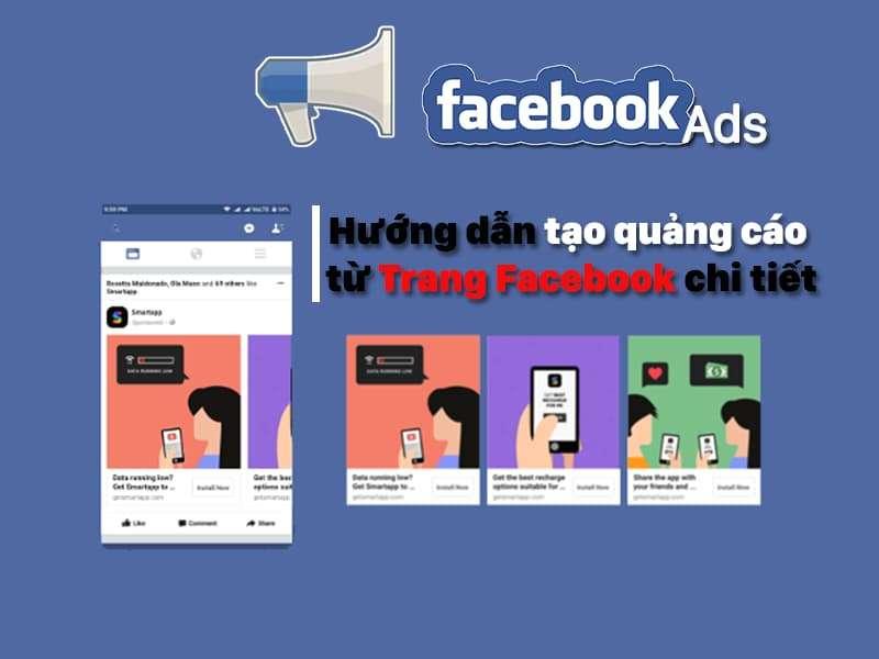 Hướng dẫn tạo quảng cáo từ Trang Facebook chi tiết nhất 2021